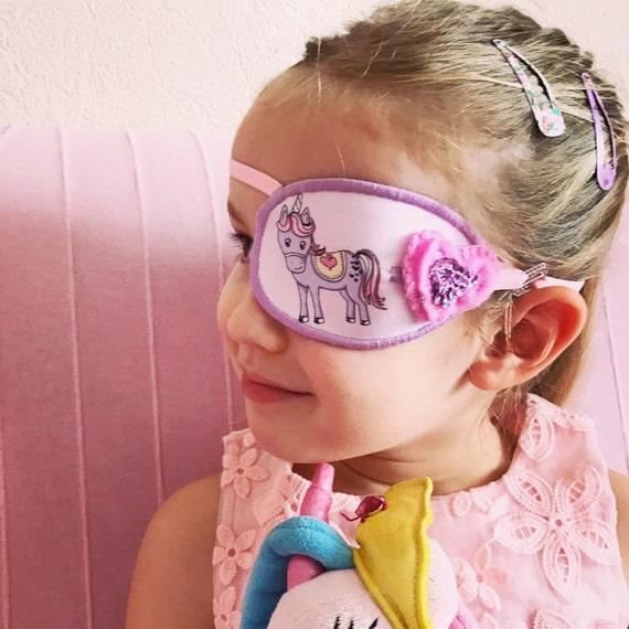 Modelo de parche en el ojo del pirata para niños y adultos