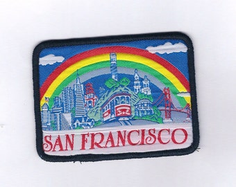 Vintage San Francisco with Rainbow Patch