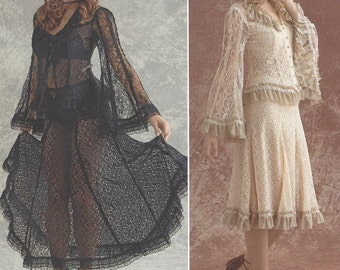 Arkivestry Womens Lace Blouses and Lace Skirts Wedding or Cosplay Simplicity Sewing Pattern 8362 Size 14 16 18 20 22 Bust 36 38 40 42 44 FF