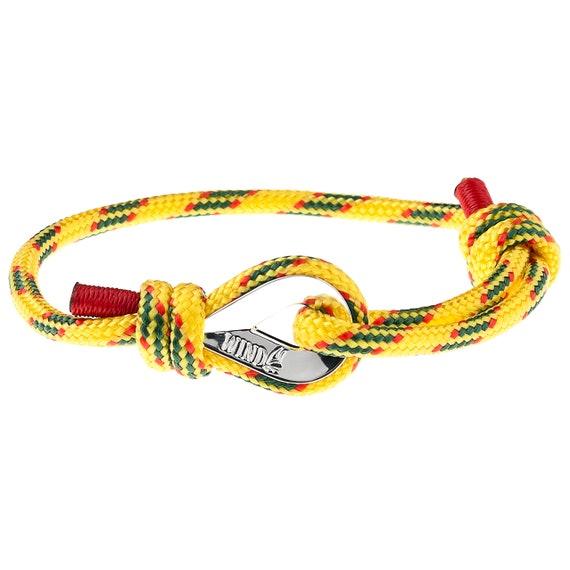 NAUTICAL BRACELET for HER - womens cord bracelet, womens paracord bracelet, womens bracelet, mens paracord bracelet, nautical jewelry