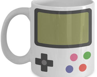 Game Boy Coffee Mug | Gameboy Mug | Video Game Mug | Gamer Mug | Gamer Gifts | Nerd Mug | Nerd Gifts | Geek Mug | Boyfriend Mug