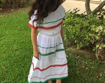 Campesino mexican dress for girl and woman