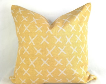Cushion covers, pillows covers, yellow cushion cover, yellow pillow, mustard geo pillow, yellow geometric cushion, geo mustard cushion