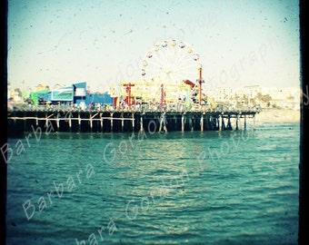Santa Monica Pier Dreamland - 8x8 Fine Art TTV Print