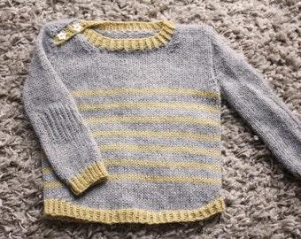 Tout Petit Large Knitting Pattern