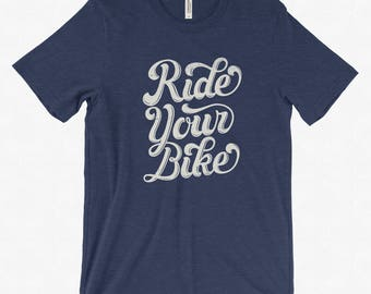 Ride Your Bike Lettering