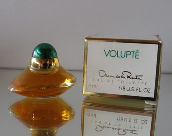 Volupté  by Oscar de la Renta - FULL - Miniature perfume bottle - Eau de Toilette Parfum-