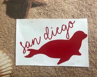 San Diego Decal