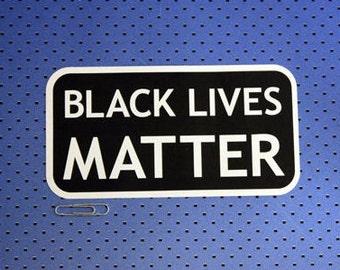 Black Lives Matter Rectangle Bumper Sticker