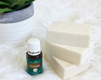 Young Living Peppermint Soap - Oatmeal and Shea