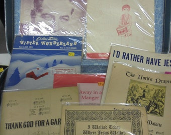 I WALKED TODAY set of vintage music