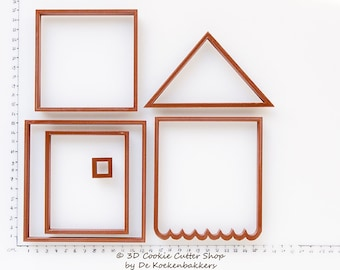Gingerbread House (Cookie Jar) Cookie Cutter Set
