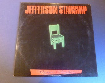 Jefferson Starship Nuclear Furniture Vinyl Record LP BXLI-4921 Grunt Records 1984