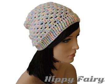 Pastel beanie, pastel hat, pastel goth