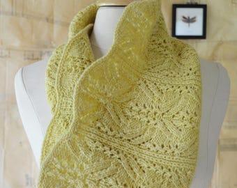 Cordulia Cowl Knitting Pattern PDF