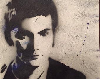 Doctor Who / David Tennant Canvas Acrylic Artistik Artwork