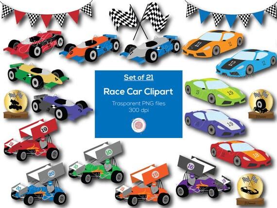 race cars clipart clip art digital elements racing rh etsy com digital clipart bundles for cu digital clipart bundles for cu