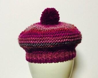 Handknit Baby Hat