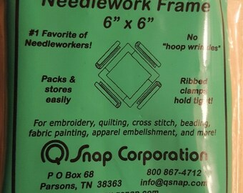 Q Snap 6x6  Needlework Frame SF6