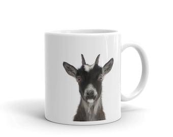 French Goat Mug, Goat Art Print Mug, Minimalist Animal Nursery Print, Coffee Mug, Tea Mug, Farm animal mug, French Country Farmhouse Decor