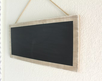 Hanging Distressed Chalkboard