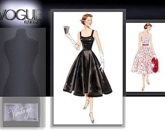VOGUE 2902 sewing pattern,  Vogue Vintage Model Original 1952 Design.  size 12-14-16  New.  Uncut.  Factory folded.