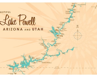 Lake powell Etsy