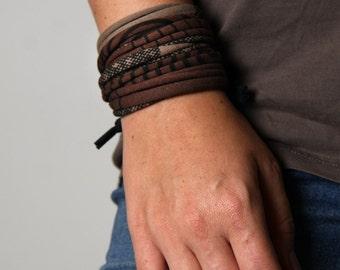 Wrap Bracelet, Cuff Bracelet, Gift for Her, Gift for Women, Gift for Mom, Festival Clothing, Boho Jewelry, Birthday Gift, Girlfriend Gift