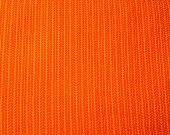 Moda fabric by the yard - orange fabric #16084
