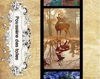 Bookmark deer