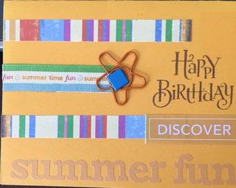Happy Birthday Card - Summer  Birthday