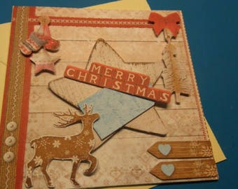 3D 933 hand made greeting card