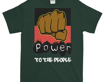 Power To The People Short sleeve t-shirt