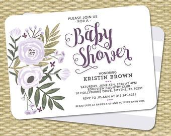 Baby Shower Decorations Printable Set Gender Neutral Green