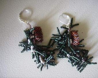 Winter Wilderness Earrings