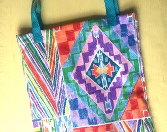 Serape Patchwork Tote Bag