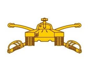 US Army Armor Branch Insignia Vector Files, dxf eps svg ai crv