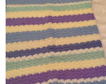 multi-color baby blanket