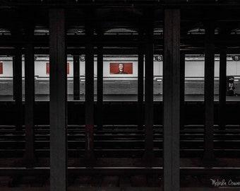 New York Photography, New York, David Bowie, Broadway-Lafayette, Soho, NYC Photo Print