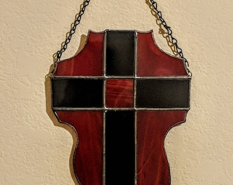 Stained Glass Cross Free Shipping in the U.S.