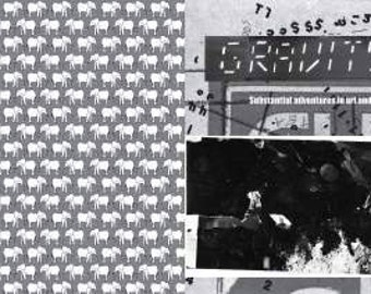 Gravity Zine Issue 1 A5 black and white art and culture fanzine