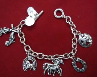 Western Charm Bracelet