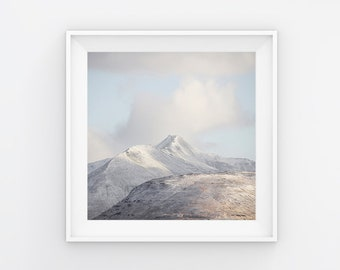 Iceland Mountainscape Photography Print