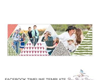 Facebook Timeline Cover Photoshop Template - FBT08