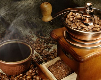 PREMIUM  FRAGRANCE OIL - Fresh Brewed  Coffee for Candles Soaps & Home Warmers / Burner , Beauty and more