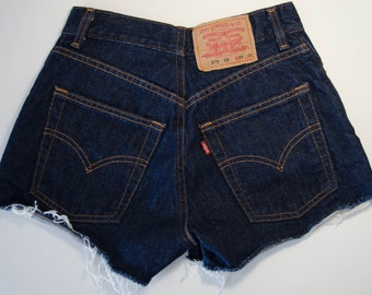 High waisted LEVI'S 575 shorts