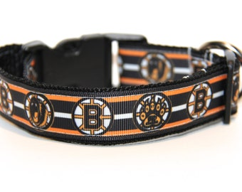 Dog Collar Boston Bruins, Boston Bruins, Dog Collar