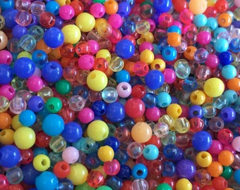 Multicolor beads lot