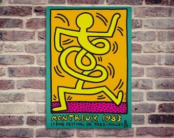 Montreux poster. Jazz Festival poster. Jazz poster. Montreux festival poster. Jazz Montreux.