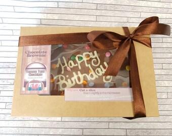 Chocolate Brownie Tray Gift